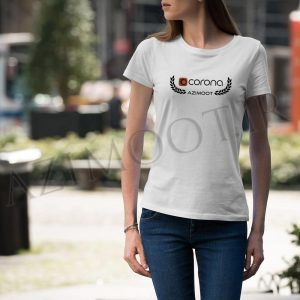 tshirt female corona