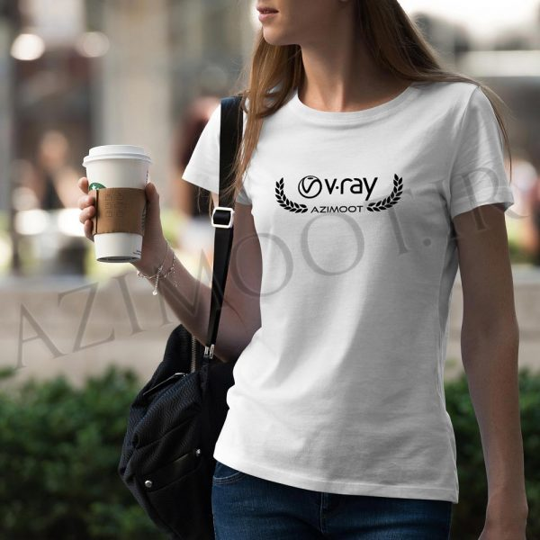 tshirt female vray